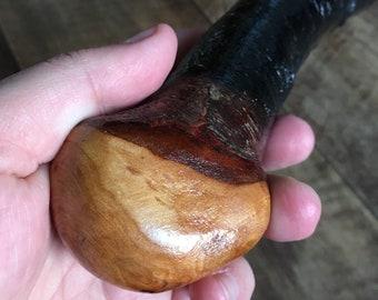 Blackthorn Walking Stick - 31 1/4 inch - Handmade in Ireland by me