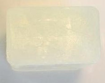 Clear Glycerin Melt and Pour Soap base 1 Lb Prewrapped