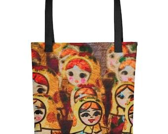 Nesting Doll/Matroyshka Tote bag