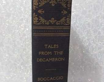 SALE Tales from the Decameron 1930 by Giovanni Boccaccio Translated by Richard Aldington Published by the Book League of America