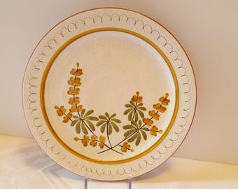 Stangl Golden Blossom 10'' Plate #5155