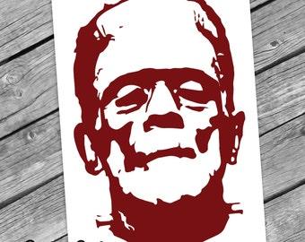 Frankenstein Decal Sticker