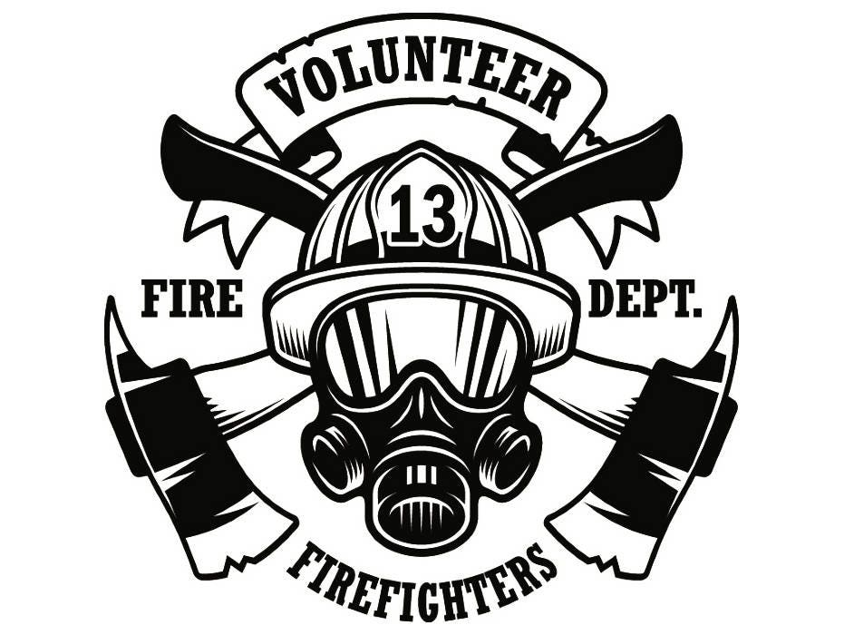 Well known Firefighter Logo 9 Firefighting Rescue Volunteer Axe Hydrant TB91