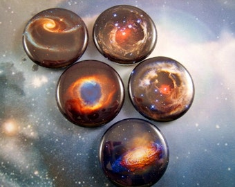 Space Magnets Magnets Pins Universe Hubble Nebulae Gift for Astronomer Fridge Magnets Astronomy Hubble