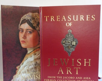 TREASURES of JEWISH ART From the Jacoba and Asea Furman Collection of Judaica (Beaux Arts Editions, 1997)