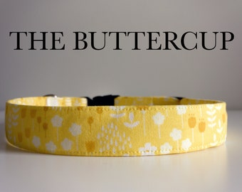 The Buttercup, Yellow Floral Spring Collar