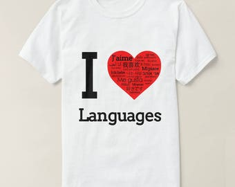 Enjoy Foreign Languages - Tshirts
