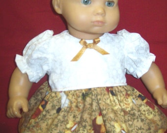 "16 "" doll dress - Country look"
