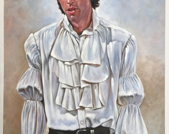 "SALE! Seinfeld Jerry Seinfeld puffy shirt painting, 24x36"", 100% money-back guarantee"