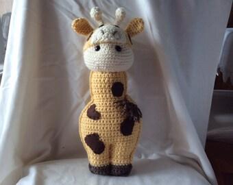 Crochet giraffe  Pattern tutorial , toy giraffe , amigurumi giraffe ,  Raffy the Giraffe , instant download pdf pattern