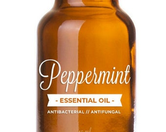 100% Pure & Natural Peppermint Essential Oil