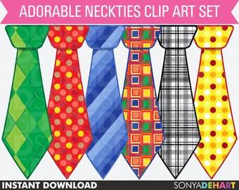 Clipart Ties, Clipart Neckties, Clip Art Ties, Clip Art Neckties, Fathers Day Clipart, Fathers Day Clip Art, Digital Ties