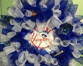 New York Yankees wreath