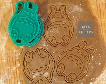 Totoro Cookie Cutter - *Dishwasher safe option* - 3D Printed