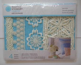 Lace Trims - Martha Stewart Crafts - Decoupage Collection - Geometric Floral 33324