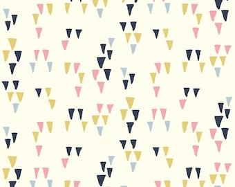 Arrowhead Cream - Wildland - Birch Fabrics - Organic Cotton - Poplin by the Yard