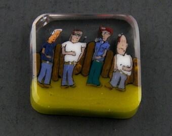 Accessoires au propane verre Murrine Boro Murrina Cabochon - 138 A