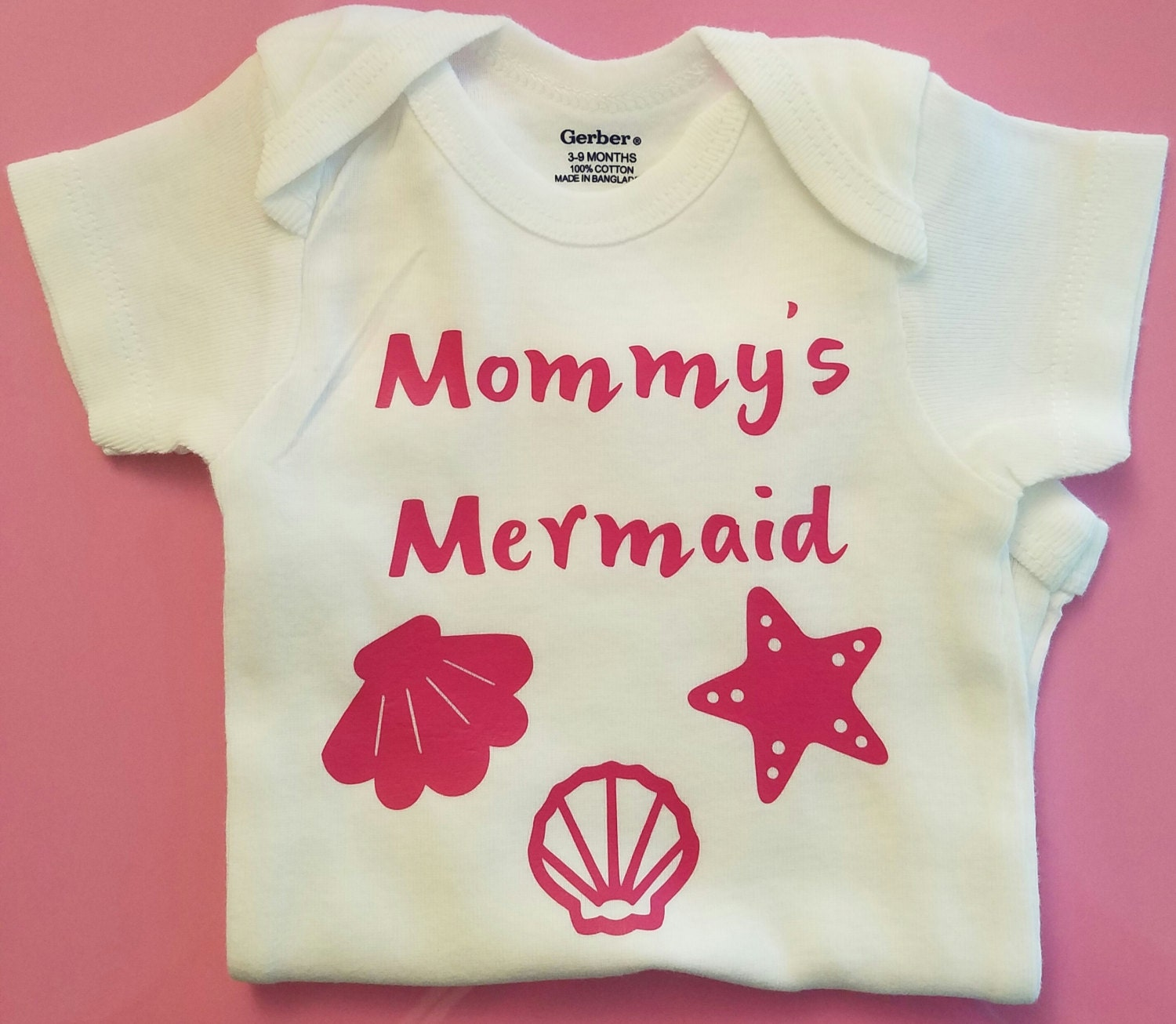 Mommy s Mermaid Baby Clothes Beach Baby Clothes Baby
