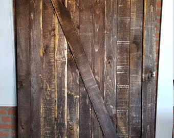 Custom vintage barn doors