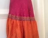 Vibrant Pink and Orange E...