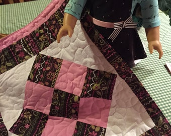 American Girl Doll Size Quilts