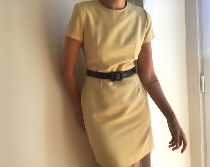 90s Vintage Sand Dress