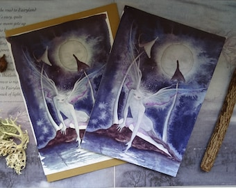 Moonlight Wish Notebook and Card Set