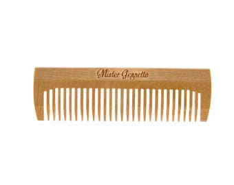 Wooden small comb