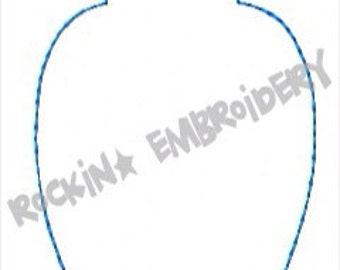 Blank Ornament Banner or Ornament