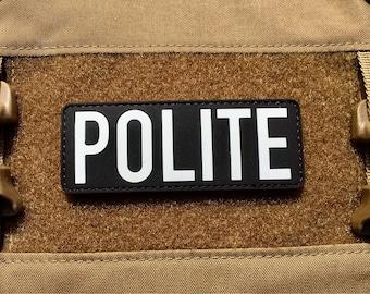 PVC POLITE patch