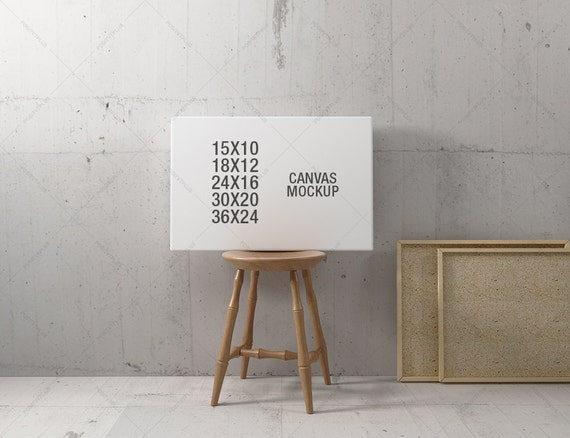 Frame Mockup / Poster Frame Photography Style / 10x15 12x18