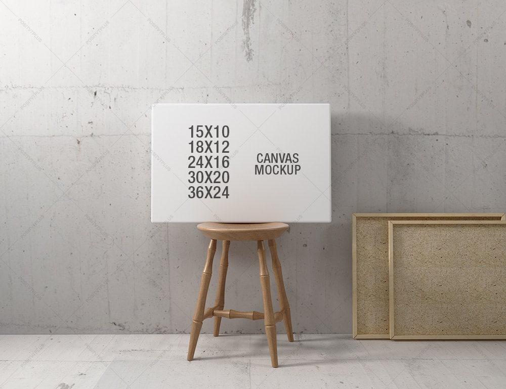 Maqueta del marco / cartel marco fotografía estilo / 10 x 15