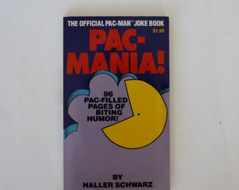 Pac-Mania! The Official Pac-Man Joke Book by Haller Schwarz (1982)