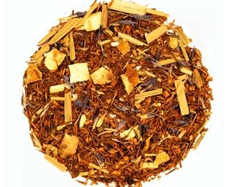 Rooibos Orange Tea, Orange Loose Tea, Organic tea, Gourmet Loose Tea, Rooibos Tea, South African Rooibos Tea
