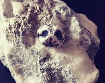 Small Pet Nose Imprint made in Sterling silver