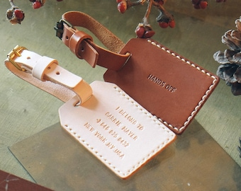 Personalized luggage tag Leather Luggage Tag Personalized Leather Luggage Tag, Wedding Favors,Custom Luggage Tag Favors, Leather Tag HarLex