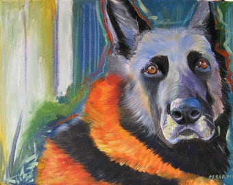Dog portraits, cat, animal