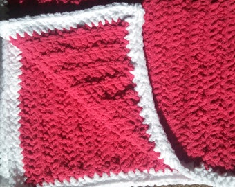 Ilafa Co Plush Salmon Pink Baby Blanket