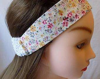 beautiful floral headband for women
