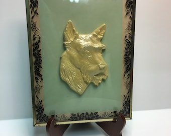 Kitschy Westie/Scottie Dog Wall art