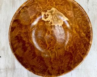 "Golden Amboyna Burl 5.5"" Bowl"