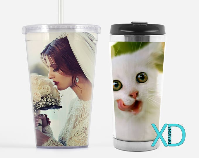 Custom Travel Tumbler, Custom Tumbler, Personalized Mug, Personalized Tumbler, Stainless Steel Mug, Custom Coffee Mug, Custom Travel Mug