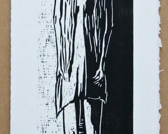 Woodcut Print