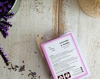 Lavender and Vanilla Wax Melts