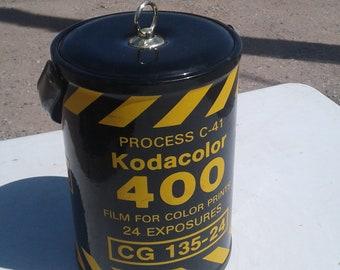 Vintage Kodak film ice bucket