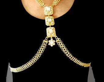 Vintage flat drill, Ethnic (of body Jewelry)