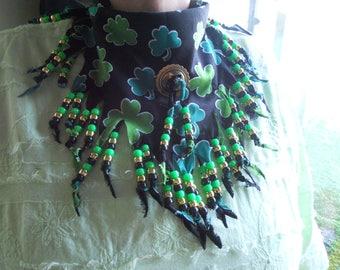 Bandanas, St. Pats, Neck Scarf, Wearable Art, Boho, Western Wear