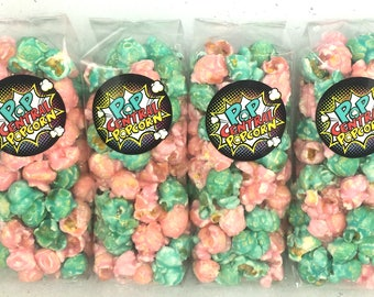 Cotton Candy Popcorn Favor Bags (set of 25)