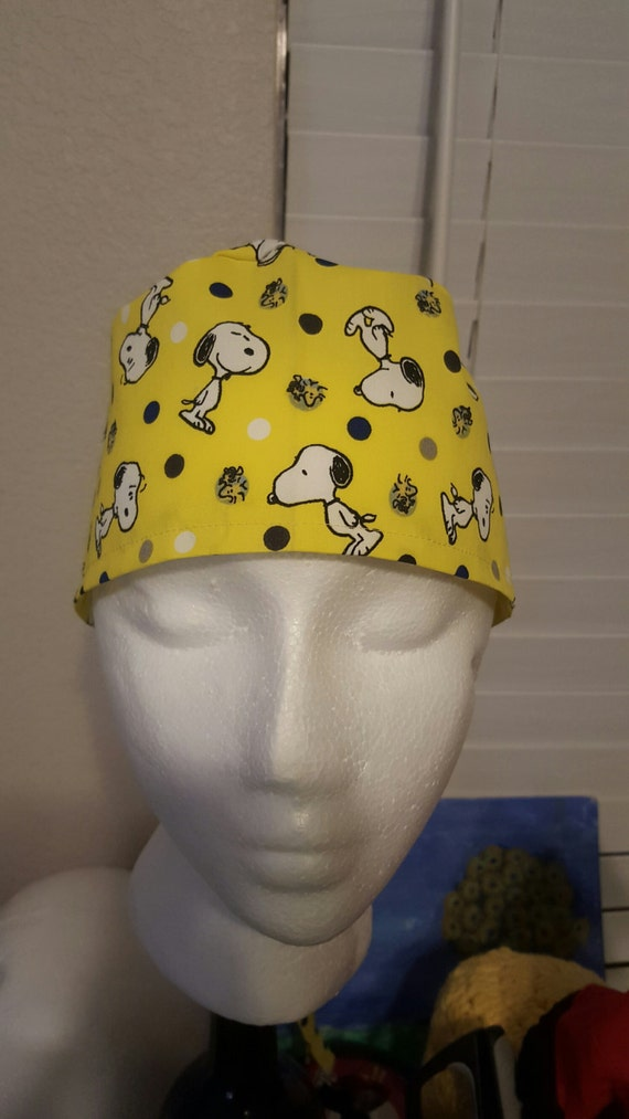 Snoopy surgical cap 504b26ec0bc