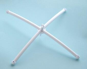 plastic mobile hanger, crib mobile frame, nursery hanger, diy mobile